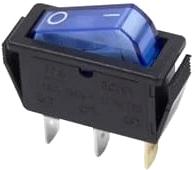 Выключатель клавишный Rexant ON-OFF 36-2211 (синий) -