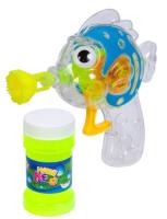 Набор мыльных пузырей Bondibon Наше Лето. Пистолет для мыльных пузырей. Рыбка / ВВ2777 -