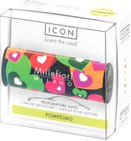 Ароматизатор автомобильный Millefiori Milano Цветы и сердца / 16CAR07 (грейпфрут) -