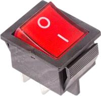 Выключатель клавишный Rexant ON-OFF 36-2330-1 (красный) -