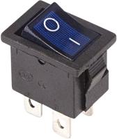 Выключатель клавишный Rexant ON-OFF 36-2191 (синий) -