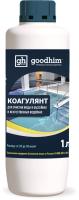 Коагулянт для бассейна GoodHim Для очистки воды в бассейнах и искуственных водоемах (1л) -