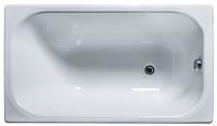 Ванна чугунная Универсал Каприз-У 120x70 (1 сорт, с ножками) -