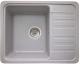 Мойка кухонная Granicom G007-05 (серебристый) -