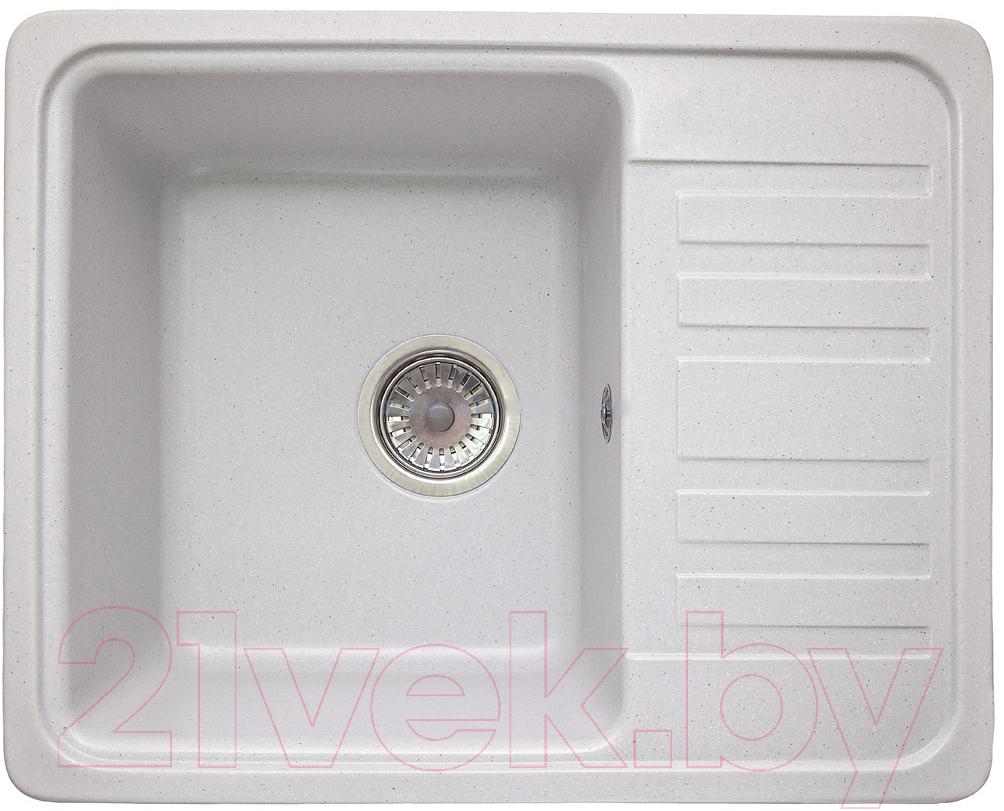 Купить Мойка кухонная Granicom, G007-08 (жасмин), Россия, искусственный мрамор