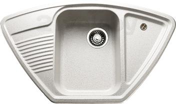 Мойка кухонная Granicom, G008-08 (жасмин), Россия, искусственный мрамор  - купить со скидкой