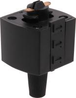 Коннектор для шинопровода Elektrostandard TRLM-1-BK (черный) -