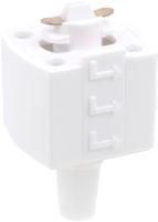 Коннектор для шинопровода Elektrostandard TRLM-1-WH (белый) -