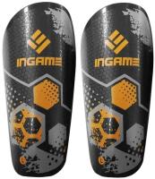 Щитки футбольные Ingame Freestyle IF-401 (M, оранжевый) -