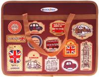 Папка-портфель Darvish Английский чемоданчик / DV-7368 -
