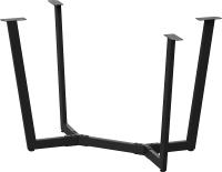 Подстолье Millwood Мюнхен 160x80 (черный металл) -