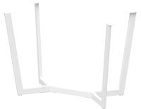Подстолье Millwood Мюнхен 160x80 (белый металл) -