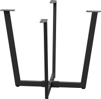 Подстолье Millwood Орлеан D90 (черный металл) -