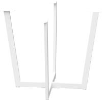 Подстолье Millwood Орлеан D90 (белый металл) -