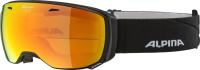 Очки горнолыжные Alpina Sports 2021-22 Estetica Q-Lite / A7246831-31 (черный матовый) -