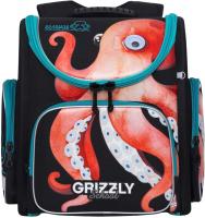 Школьный рюкзак Grizzly RAr-081-11 (осьминог) -