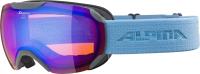 Очки горнолыжные Alpina Sports 2021-22 Pheos S Q-Lite / A7214822-22 (серый/небесно-голубой) -