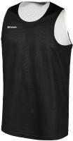 Майка баскетбольная 2K Sport Training / 130062 (XXXL, черный/белый) -