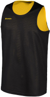 Майка баскетбольная 2K Sport Training / 130062 (XXXL, черный/ желтый) -