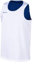 Майка баскетбольная 2K Sport Training / 130062 (XXXL, белый/синий) -