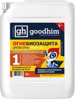 Защитно-декоративный состав GoodHim PROF 1G Огнебиозащита 1 группы (5л) -