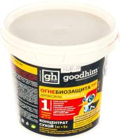 Защитно-декоративный состав GoodHim 1G DRY Огнебиозащита 1 группы (1кг, сухой концентрат) -