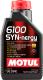 Моторное масло Motul 6100 Syn-nergy 5W40 / 107975 (1л) -