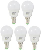 Набор ламп ETP G45 6W E14 3000K -
