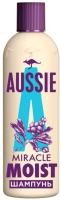 Шампунь для волос Aussie Miracle Moist для сухих поврежденных волос (90мл) -