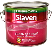 Эмаль Slaven ПФ-266 (20кг, золотисто-коричневый) -