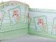 Бортик Alis 360x40 со съемными чехлами (бязь, зеленый) -