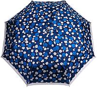 Зонт складной Cruise 630 (цветы/синий/серый) -