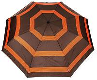 Зонт складной Cruise 16005 (коричневый/оранжевый) -