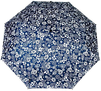 Зонт складной Urban 312 (синий/белый) -