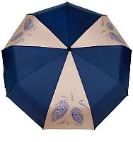 Зонт складной Капялюш 17С3-00718 (синий/бежевый) -