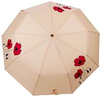 Зонт складной Капелюш 1460 (бежевый) -