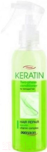 Купить Кондиционер-спрей для волос Prosalon, Keratin (200мл), Польша, Keratin (Prosalon)
