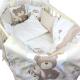 Комплект в кроватку L'Abeille Малыши 6 (бязь) -