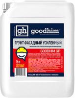 Грунтовка GoodHim Усиленная фасадная универсальная с антисептиком GP (5л) -