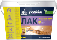 Лак GoodHim Texture 500 пропитывающий для бани и сауны (полуглянцевый, 900 г) -