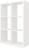 Стеллаж MySTAR Duo 118.17 (белый) -