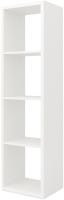 Стеллаж MySTAR Duo 118.15 (белый) -