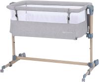 Детская кроватка KinderKraft Neste Air (Grey Light Melange) -