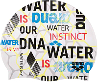 Шапочка для плавания ARENA Print 2 1E368 105 (Evolution White) -