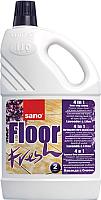 Чистящее средство для пола Sano Floor Fresh Concentrated Lilach Lavender 4 в 1 (2л) -