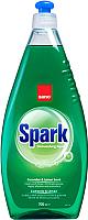 Средство для мытья посуды Sano Spark Dishwashing Liquid Cucumber (1л) -