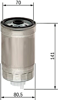 Топливный фильтр Bosch 1457434511 -