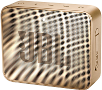 Портативная колонка JBL Go 2 (шампань) -