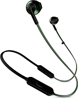 Наушники-гарнитура JBL T205BT (зеленый) -