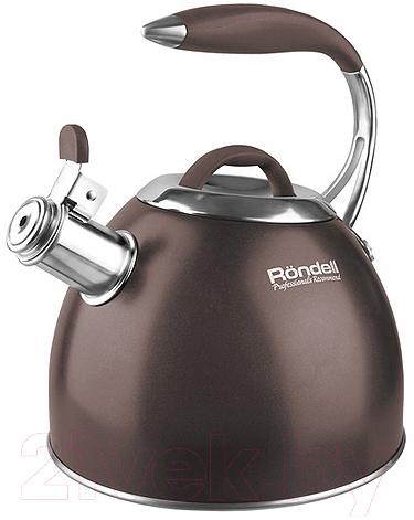 Купить Чайник со свистком Rondell, RDS-837, Китай, коричневый